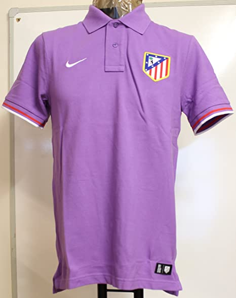 Nike Atletico Madrid Polo (púrpura) - Talla XL: Amazon.es ...