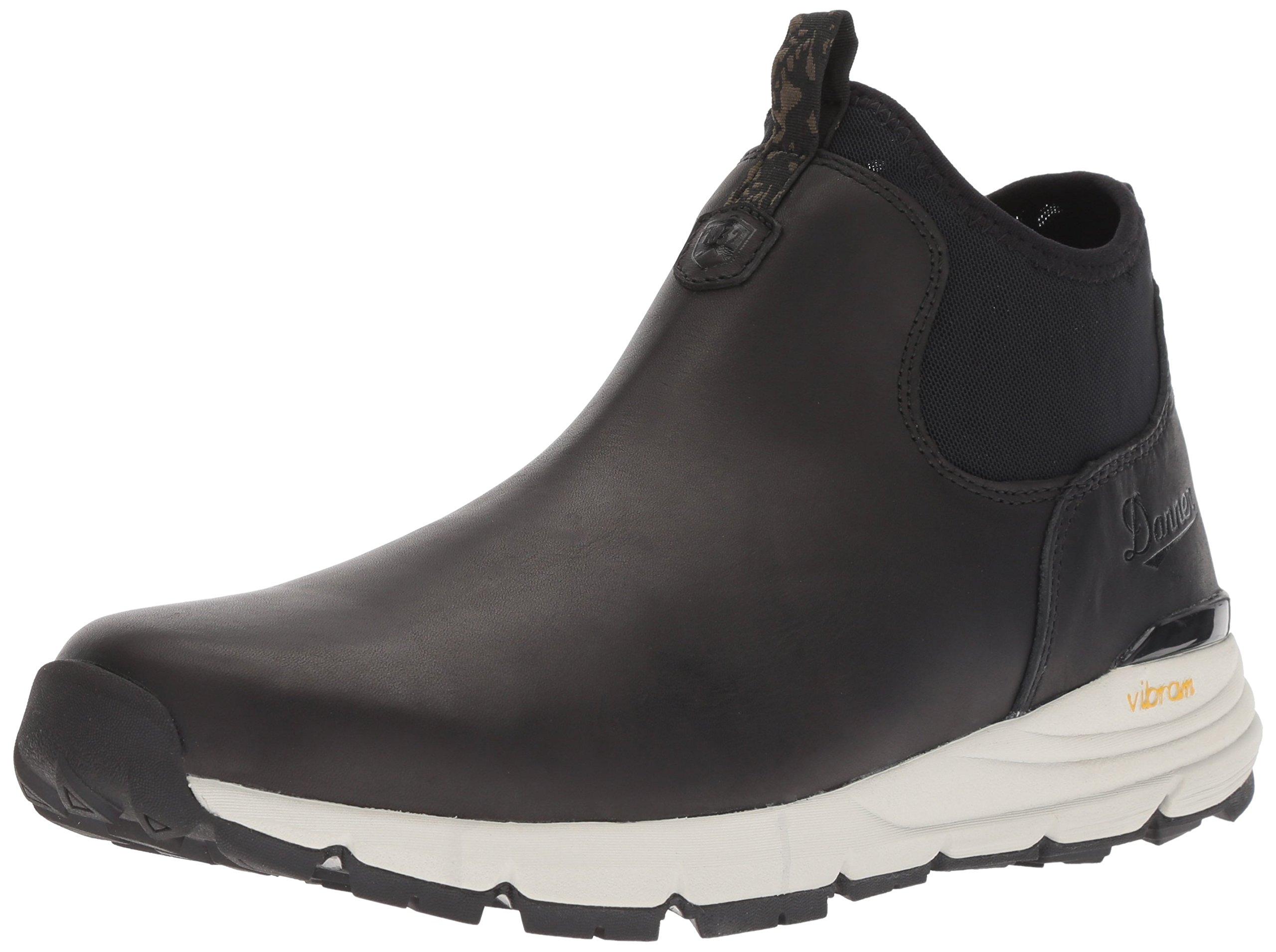 Danner Men's Mountain 600 Chelsea Boot, Black, 9.5 D US