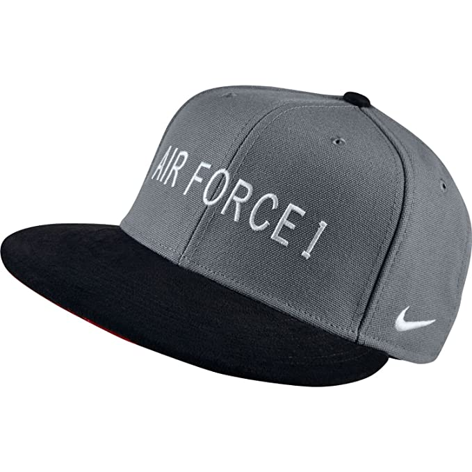 Nike S + Air Force 1 AF1 Hunt True Gorra Cool Gris/Blanco: Amazon.es: Deportes y aire libre