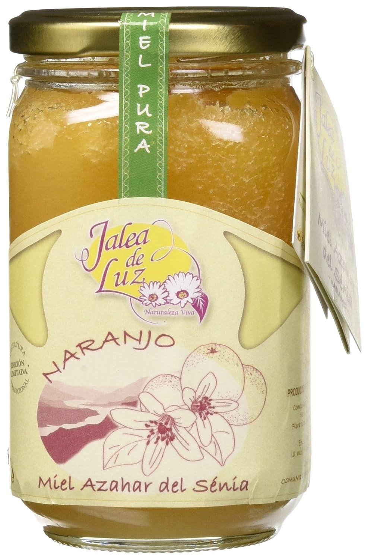 Jalea de Luz Miel Cruda Pura de Azahar - 500 gr.