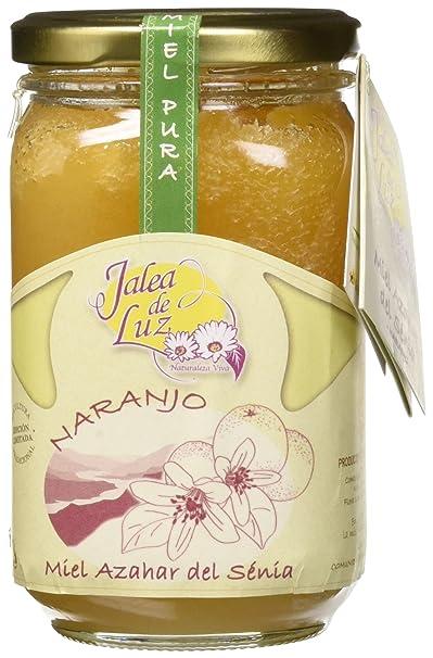 Jalea de Luz Miel Cruda Pura de Azahar - 500 gr.: Amazon.es ...
