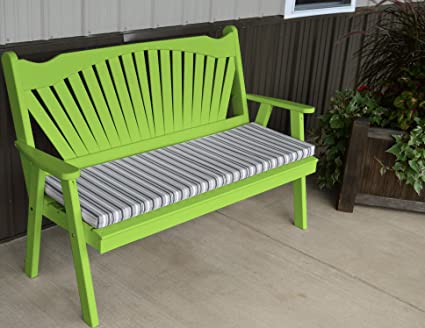 Prime Best Garden Bench 5 Fanback Porch Benches For Outdoor Entertaining Designer Patio Lanai Seating Living Furnishings Usa Amish Made For Deck Short Links Chair Design For Home Short Linksinfo