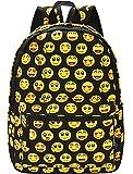 Coofit Cute Emoji Backpack for Kids Cool Backpack Purse Book Bag School Bag