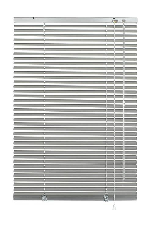 GARDINIA Alu-Jalousie, Sicht-, Licht- und Blendschutz, Wand- und Deckenmontage, Alle Montage-Teile inklusive, Aluminium-Jalou