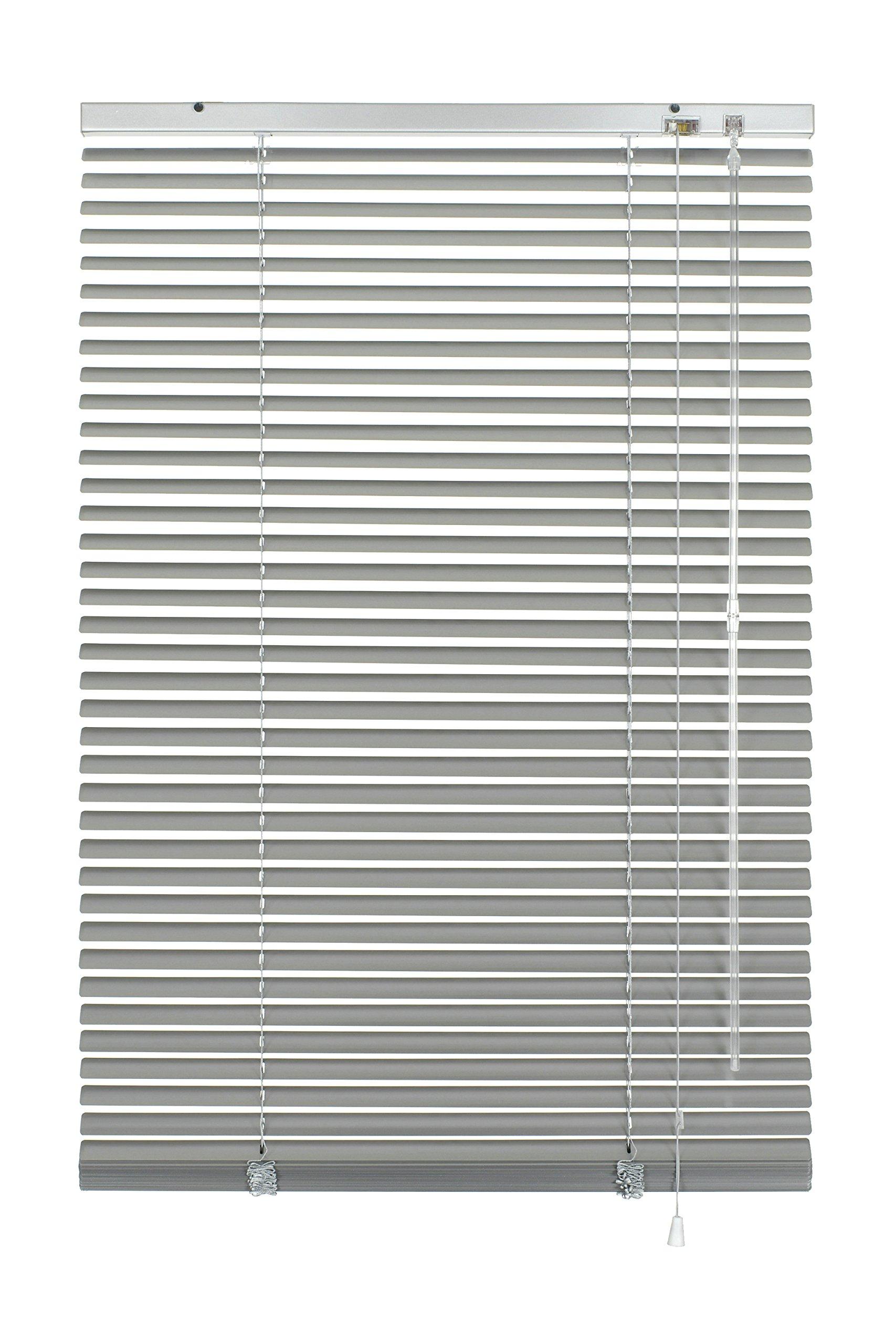Gardinia 7734 - Persiana enrollable y estor, metálico y aluminio de, Plateado, 120