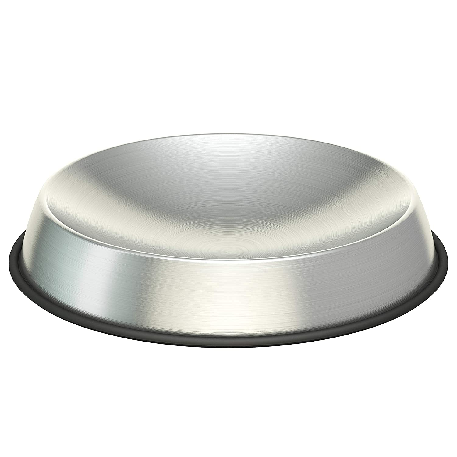 Dr. Catsby Cat Food Bowl, Whisker Friendly, Stainless Steel, Non Skid, Dishwasher Safe, May Also Prevent Acne, The Original Whisker Relief
