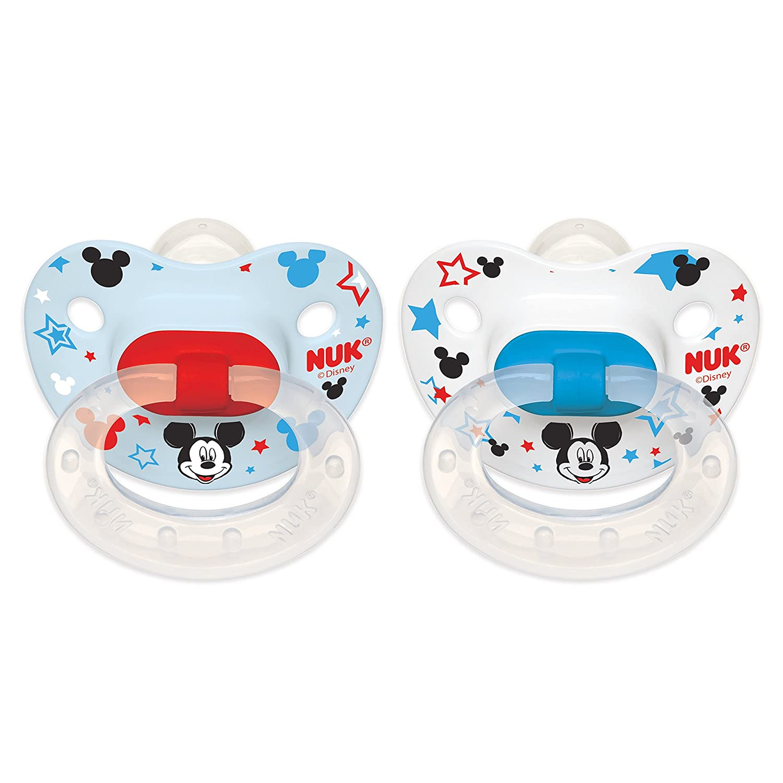 Amazon.com: NUK Disney Mickey Minnie anatómica sin BPA ...