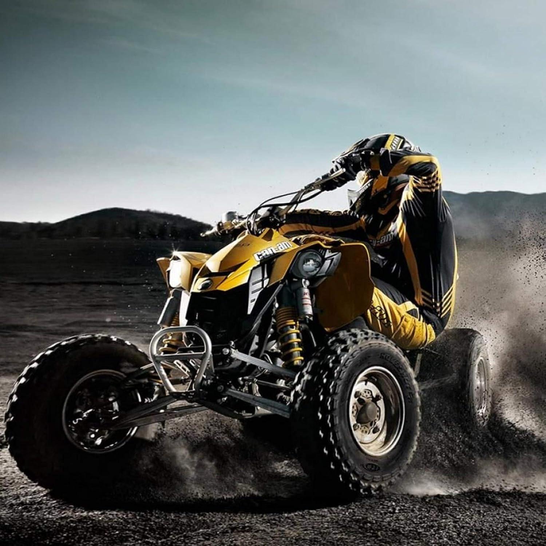 Trasera para Quad ATV UTV SxS Buggy Ancho Amplia 45mm Por Rueda 4//100-4//110-4//115 Con Alargadores de Metrico 10 x 125 Set Para 2 Ruedas. Separador Espaciador Extensor Rueda Delantera