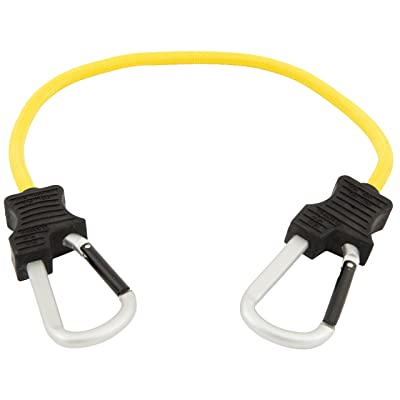 """Keeper 06152 24"""" Super Duty Bungee Cord with Carabiner Hook (Yellow): Automotive"""