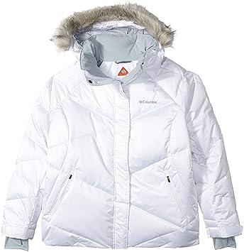 Columbia Women's Plus Size Lay D Down Jacket, White, 2X