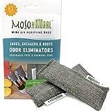 MOSO NATURAL Air Purifying Bag, MB3979, Charcoal, 1-Pack (2 Total)