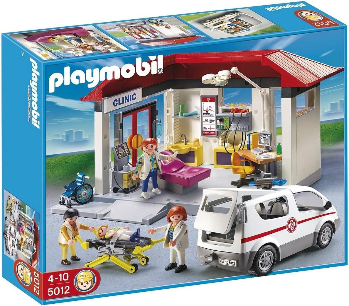 PLAYMOBIL - Clínica con Vehículo de Emergencia - 5012