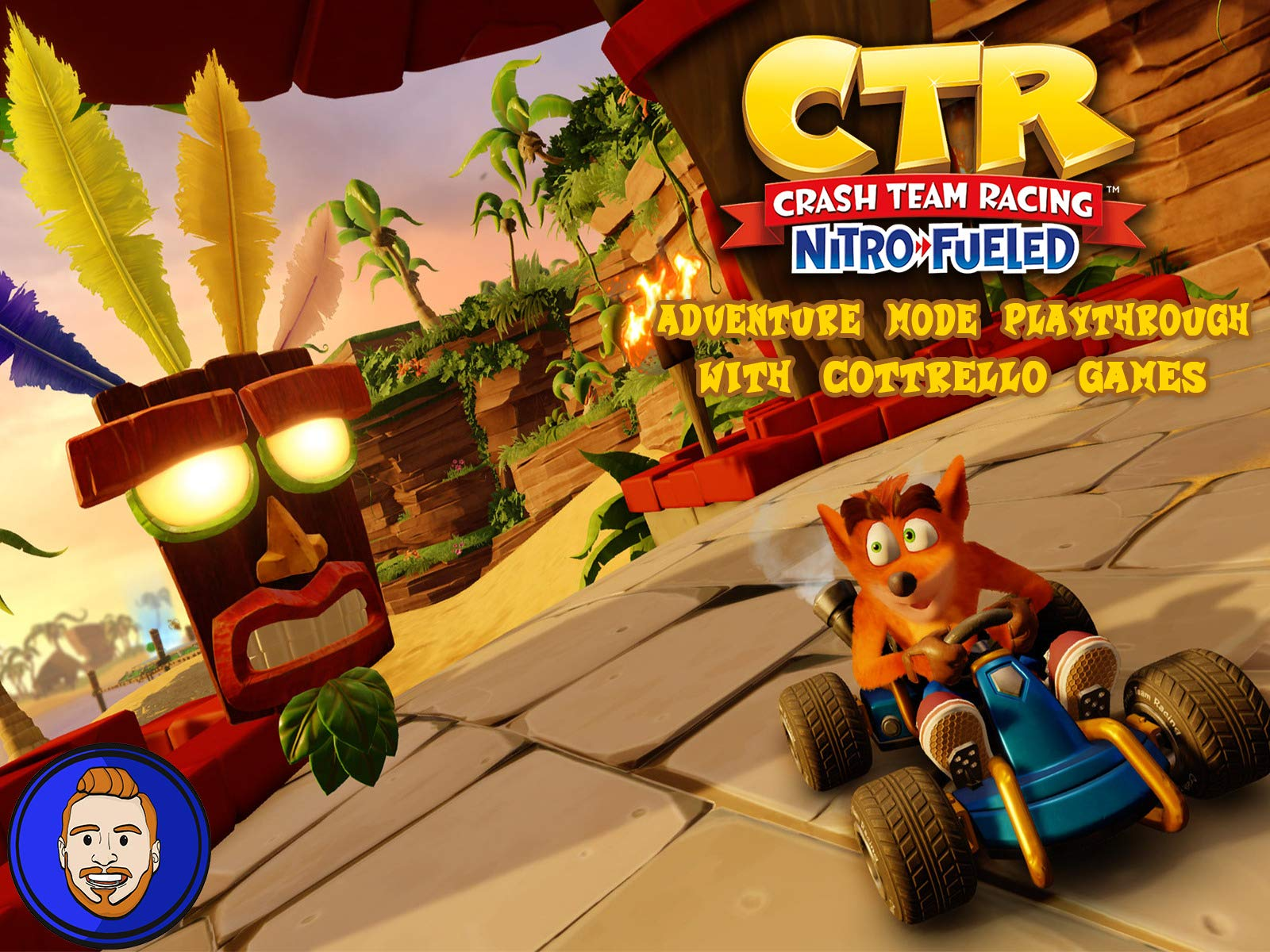 Crash Team Racing Nitro-Fueled Complete Adventure Mode Playthrough with Cottrello Games