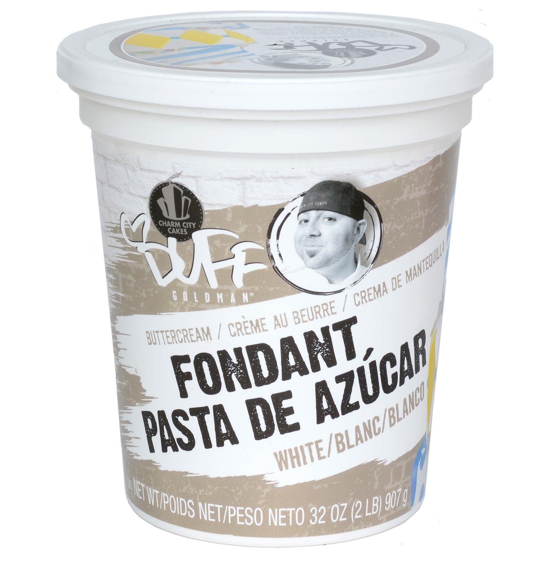 Duff - Buttercream Fondant 2Lb, White