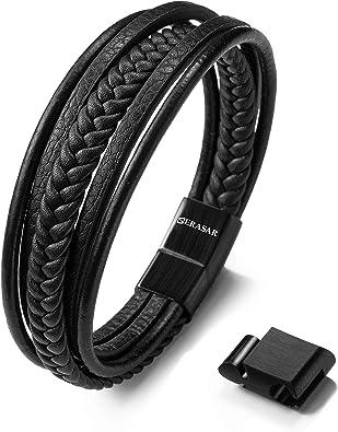 Unisex Bracelet Men/'s Gift Men Strap Bracelet Wrap Leather Bracelet Bracelet For Men Cuff Men Bracelet FREE SHIPPING-Mens Bracelet