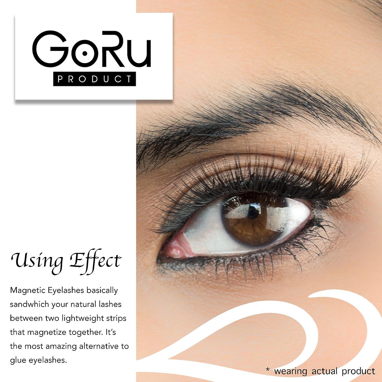 Amazon Premium Magnetic Eyelashes By Goru Productno Glue