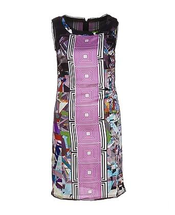 special section official site wholesale sales Custo Barcelona - Robe - Femme Multicolore Multicolore ...