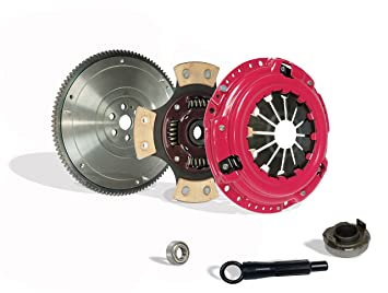 Kit de embrague con volante etapa 3 para Honda Civic Si Crx HF D15 D16 Gas SOHC: Amazon.es: Coche y moto