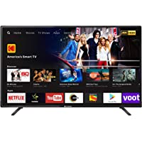 Kodak 124 cm (50 Inches) 4K Ultra HD LED Smart TV 50UHDXSMART (Black)