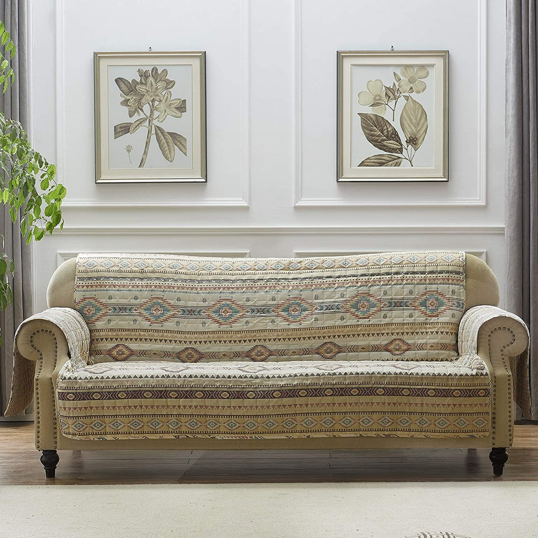 Barefoot Bungalow Phoenix Furniture Slipcover, Sofa, Tan