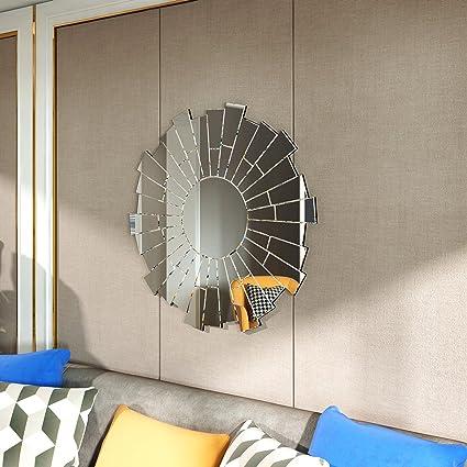 Specchio da parete 90 x 90 cm stile antico moderno stile ...