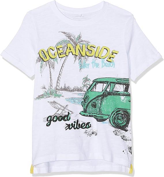 NAME IT Jungen Nkmhartin Ss Top Box T-Shirt