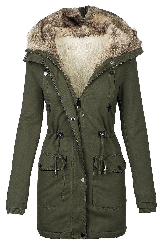 Langer mantel winter damen
