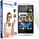 Cellbell Premium Tempered Glass Screen Protector for HTC Desire 816 (2.5D Curved Edges)(Clear)(Comes with Complimentary Prep cloth/Bronze Edition