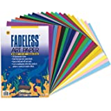 "Fadeless Paper Assortment, 20 Assorted Colors, 12"" x 18"", 60 Sheets"