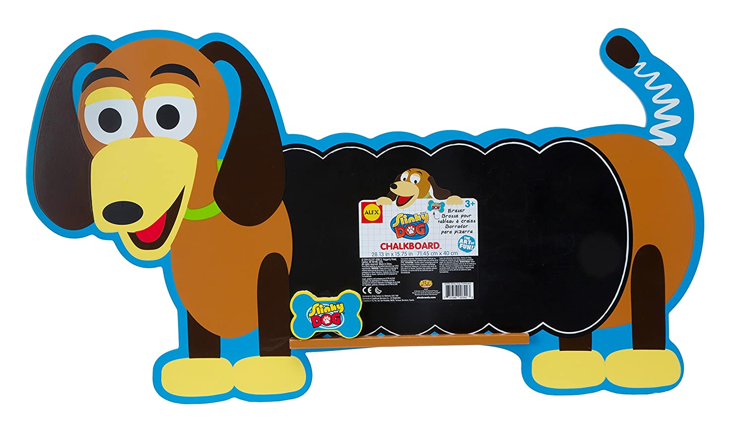 Amazon.com: ALEX Toys Artist Studio Slinky Dog Chalkboard ...