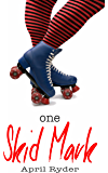 One Skid Mark: BBW Roller Derby Romance (Skid Marks Book 1)