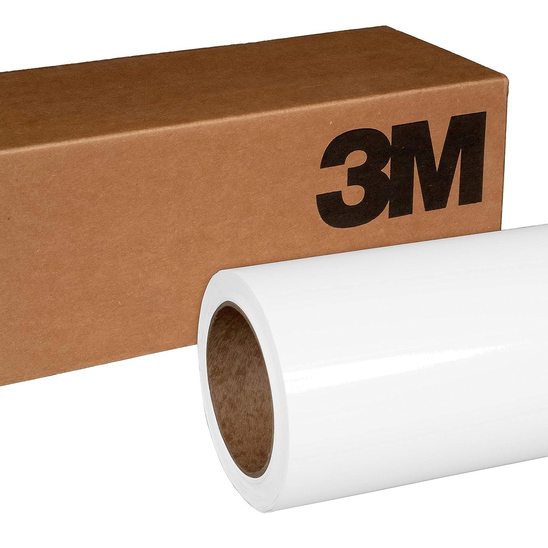3M 1080 G10 Gloss White 5ft x 2ft (10 Sq/ft) Car Wrap Vinyl Film