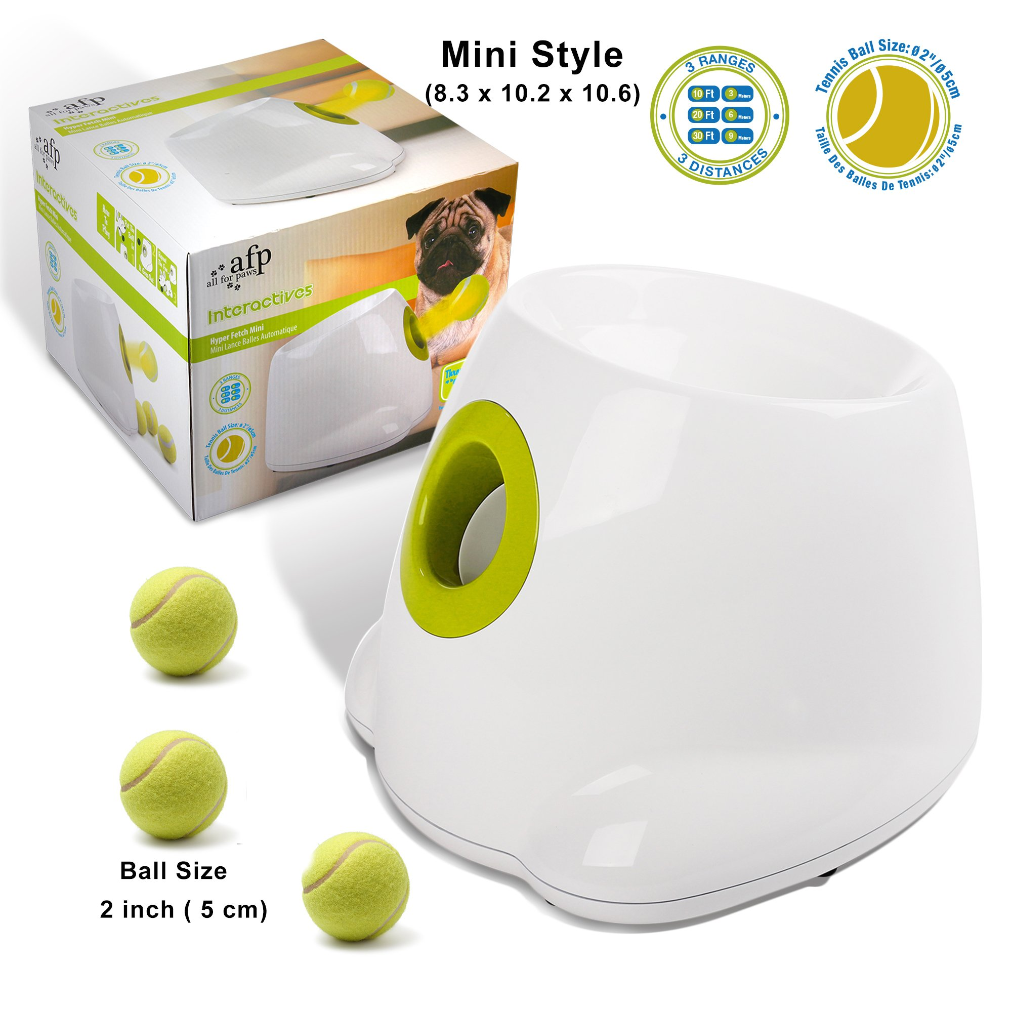 ALL FOR PAWS Hyperfetch Ultimate Throwing Toy (Mini)