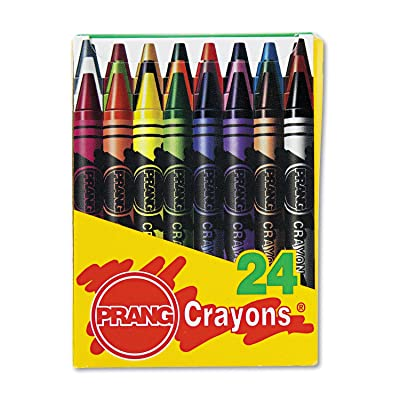 Prang 00400 Crayons Made with Soy, 24 Colors/Box: Office Products