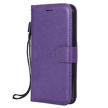 Lomogo Funda Galaxy J5 (2015), Funda de Cuero con Cartera para Tarjetas y Cierre Magnetico Soporte Plegable Carcasa Libro Antigolpes para Samsung ...