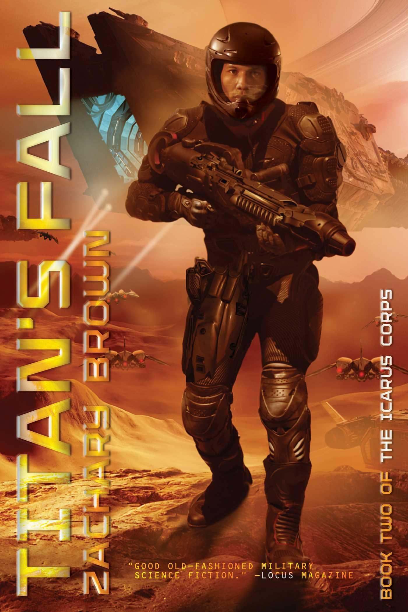 Titan's Fall (the Icarus Corps): Zachary Brown: 9781481430388: Amazon:  Books
