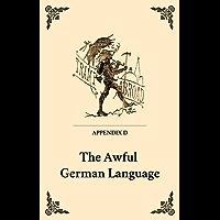 The Awful German Language (English Edition)