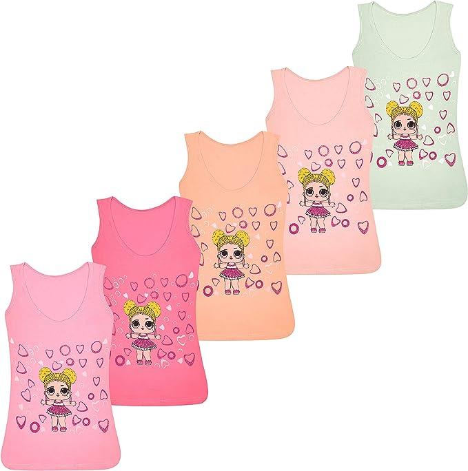 PiriModa Camiseta Interior de Tirantes para niña - Hecha de ...