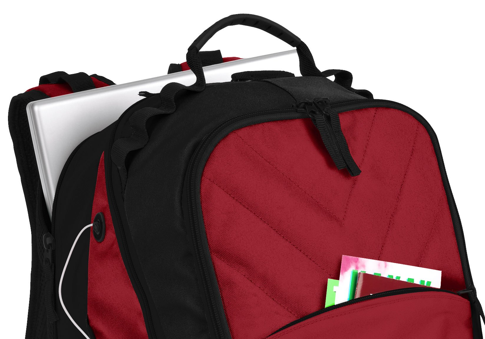 Broad Bay Alabama Crimson Tide Backpack Red UA University of Alabama Laptop Computer Bags by Broad Bay (Image #1)