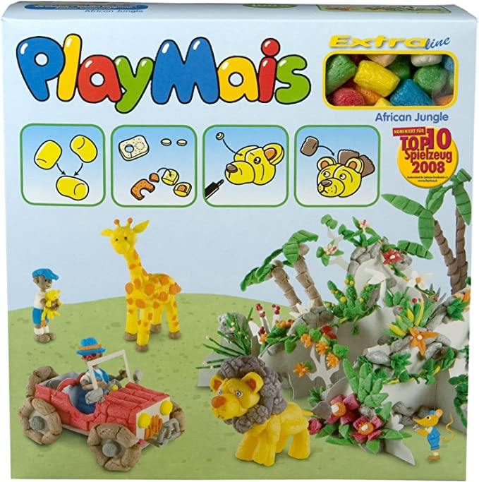 PlayMais 4529B - Collage de construcciones de Material ...