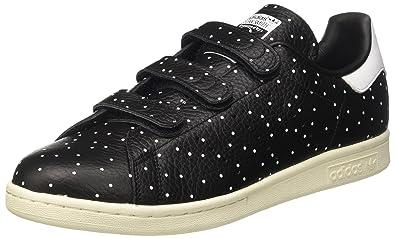 Adidas Stan Smith Cf, Sneaker Bas du Cou Femme, Noir (Noyau Noir ... 2d512ca0c1ac
