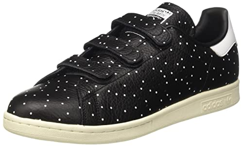 adidas BB5146, Scarpe Sportive Basse Stan Smith Donna, Nero (Core Black/Core