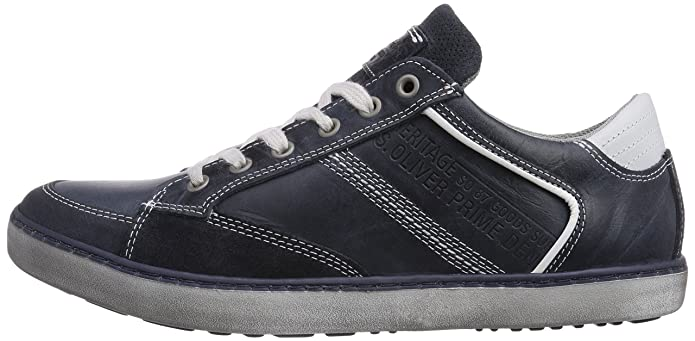 13600, Sneakers Basses Homme, Bleu (Navy), 44 EUs.Oliver