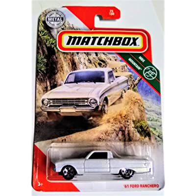 Matchbox 2020 MBX Mountain Series '61 Ford Ranchero 75/100 Die Cast Metal Truck: Toys & Games