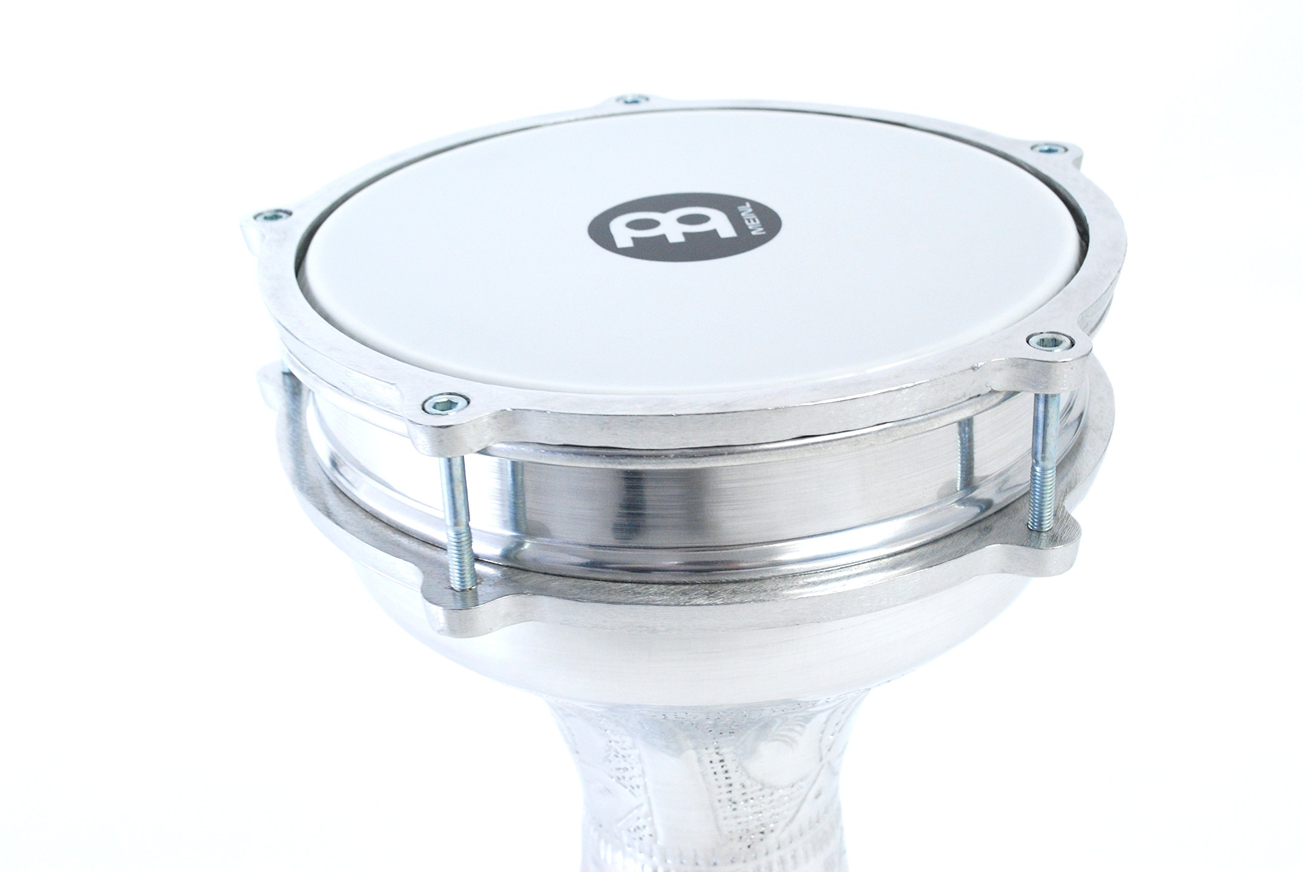 Meinl Percussion Darbuka with Hand Hammered Aluminum Shell-Made in Turkey-8'' Tunable Synthetic Head, 2-Year Warranty (HE-114) by Meinl Percussion (Image #4)
