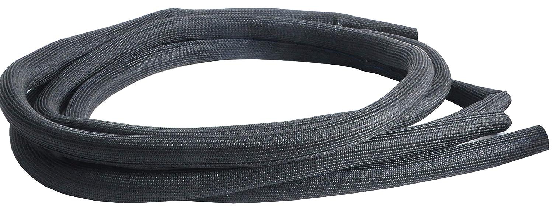 8mm Split Wire Sleeve x 20 5//16 Black Design Engineering 010651 Easy Loom