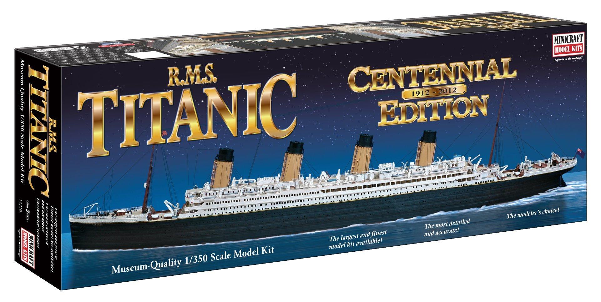 Minicraft RMS Titanic Centennial Edition 1/350 Scale