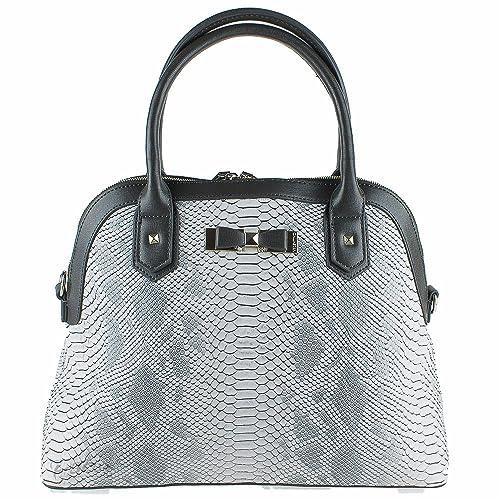 Valentino - Bolso estilo cartera de Material Sintético para mujer Verde gris: Amazon.es: Zapatos y complementos