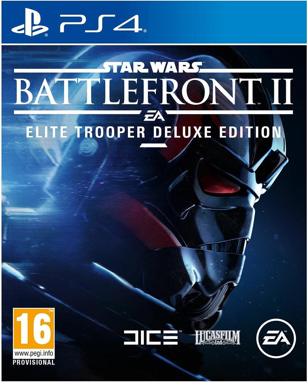 Sony Star Wars Battlefront II Elite Trooper Deluxe Edition PS4 De ...