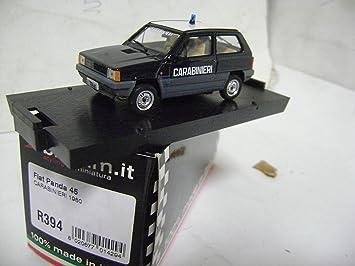 BRUMM FIAT PANDA CARABINIERI 1980 R 394 model metal 1/43 made italy